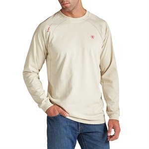 Ariat FR 6.75 oz L / S Work Crew T-Shirt