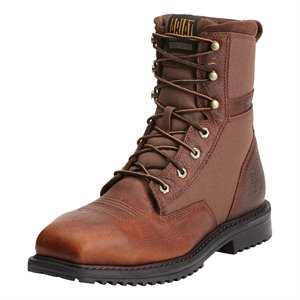 """Ariat RigTek 8"""" Composite Toe Lace Up Boot"""