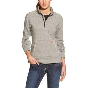 Ariat FR Ladies Polartec Fleece 1 / 4 Zip Top