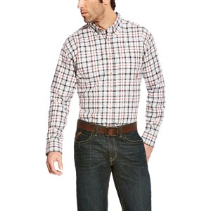 Ariat FR 7 oz. Plaid Work Shirt