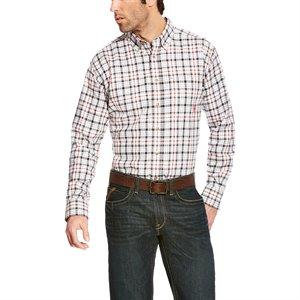 Ariat FR 7 oz Plaid Work Shirt