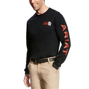 Ariat FR Crew Logo T-Shirt
