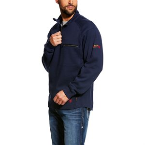 Ariat FR 10 oz Fleece Rev 1 / 4 Zip Top