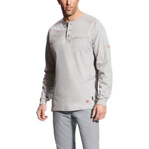 Ariat FR 6 oz. Cotton Air Henley