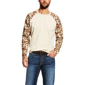 Ariat FR 6.75 oz Cotton Baseball T-Shirt