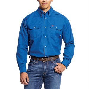 ARIAT FR BLUE WORK SHIRT