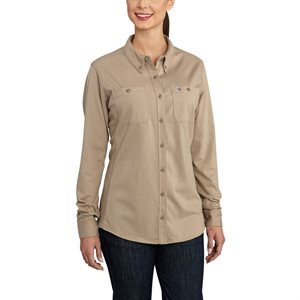 Carhartt FR Ladies 6.75 oz. Force Cotton Workshirt
