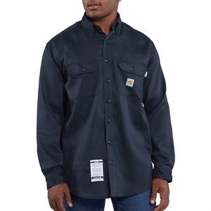 Carhartt FR 6 oz Lightweight L / S Twill Shirt