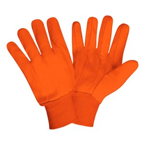 Hi Vis Double Palm 18oz. Gloves (Dozen)