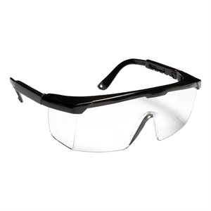 Black Frame Safety Glasses