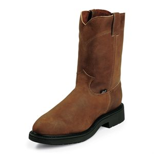 Justin Slip-On Steel Toe Boots