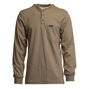 Lapco FR 7 oz. Cotton Henley