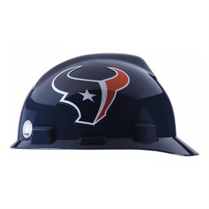 MSA NFL V-Gard Cap Style Hard Hat - Houston Texans