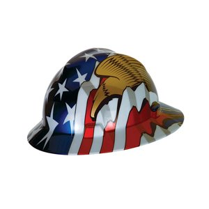 MSA Freedom Series V-Gard Full Brim Hard Hat