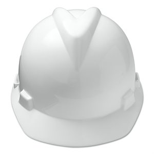 MSA V-Gard Cap Style Hard Hat w / Fas-Trac Suspension