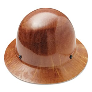 MSA Skullgard Full Brim Hard Hat w / Fas-Trac Suspension