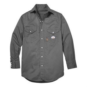Rasco FR 7.5 oz Grey Work Shirt