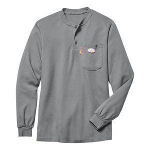Rasco FR 7.1 oz. L / S Henley Shirt