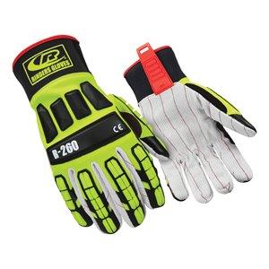 Ringers Hi-Viz Cotton Palm Impact Glove