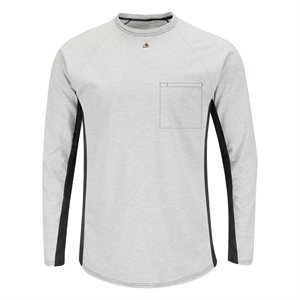 Bulwark FR 5.5 oz L / S Base Layer With Concealed Chest Pocket