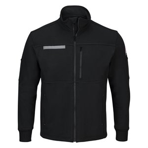 Bulwark FR 12.5 oz. Cotton Zip-Front Fleece Jacket