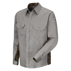 Bulwark FR 6oz Camo Uniform Shirt