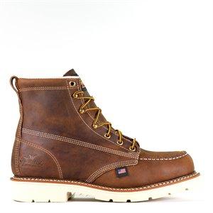 "Thorogood 6"" American Heritage Trail Crazyhorse Moc Toe MaxWear90 Boot"