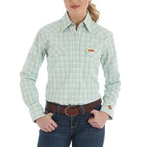 Wrangler Ladies FR 7.25 oz Cotton Shirt